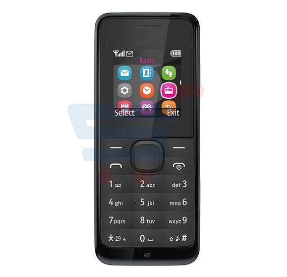 U2 105 Mobile Phone, 1.77 Inch QVGA Display, Dual Sim, Camera- Black