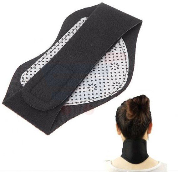 Tourmaline Self-Heating Neck Guard Far Infrared Magnetic Therapy