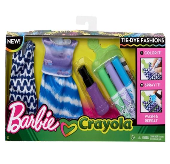Barbie Crayola Diy Tie Dye Fashion Asst - 2 FPW12