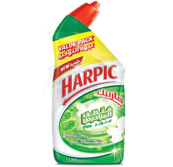 Harpic Fresh Pine Liquid Toilet Cleaner 1L