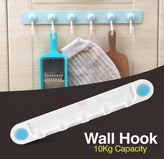 Plastic Wall Hook Organizer - CH-1425