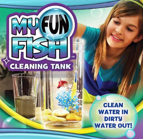 Fish Self-Cleaning Tank