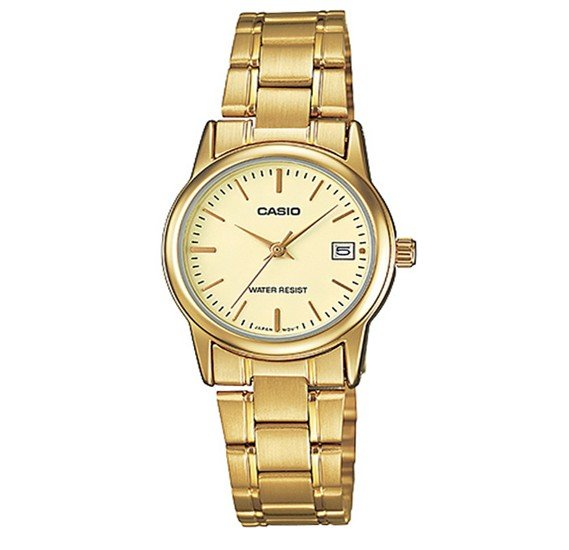 Casio Stainless Steel Watch For Women, LTP-V002G-9AUDF