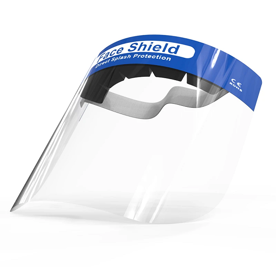 Disposable Medical Protective Anti-Fog Direct Splash Protection Face Shield