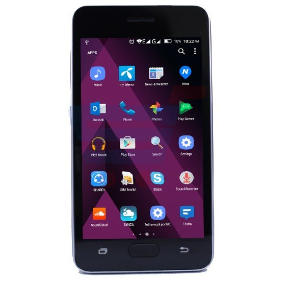 H-mobile J7 prime cell phone, Dual Sim, 2.0 MP Camera, 4 inch touch screen,Black