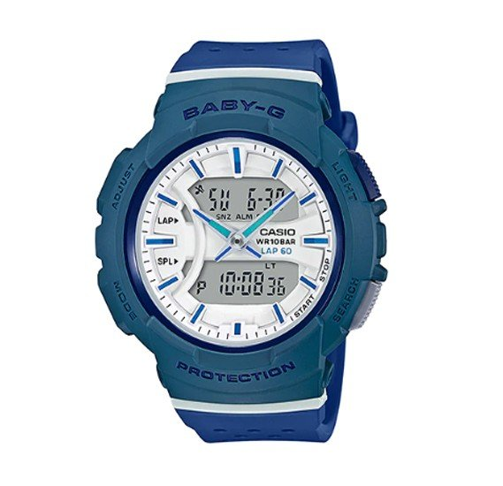 Casio Baby-G Analog Digital Watch ,BGA-240-2A2DR
