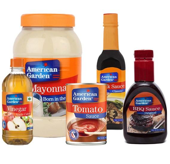 5 in 1 American Garden Sauce Combo