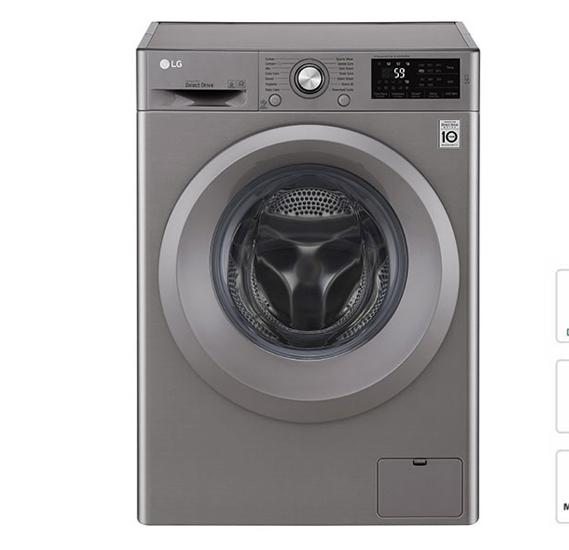 LG F2j5QNP7S Washing Machine 7kg Silver