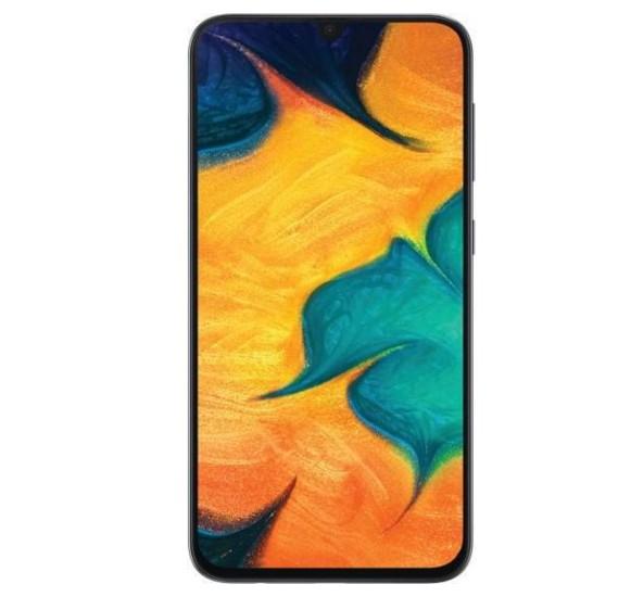 Samsung Galaxy A30 Dual SIM - 64GB, 4GB RAM, 4G LTE, Black