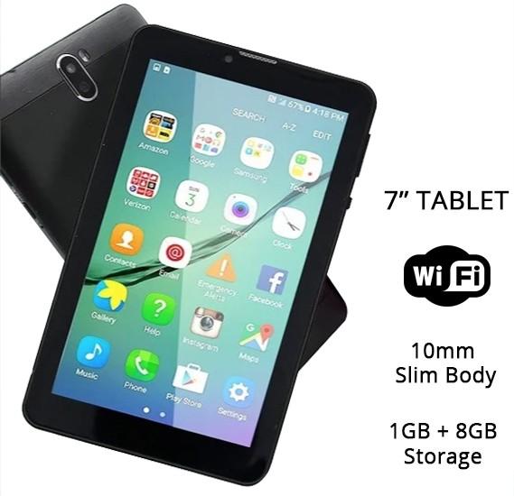 C Idea Android  7 Inch WiFi Smart Tablet 1GB+8GB storage,2megapixel camera