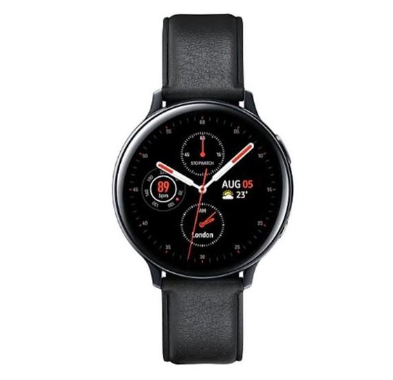 Samsung Galaxy Watch Active 2, 44mm Stainless Steel- Black