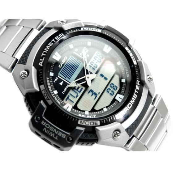 Casio Outgear Overseas Watch For Men - SGW-400HD-1DR