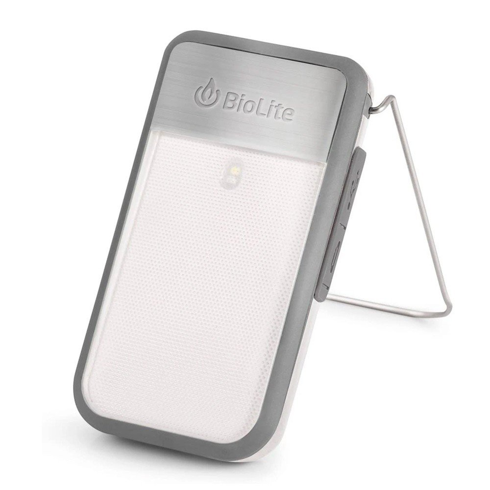 BioLite Power Light Mini Wearable Light and Power Bank, Grey