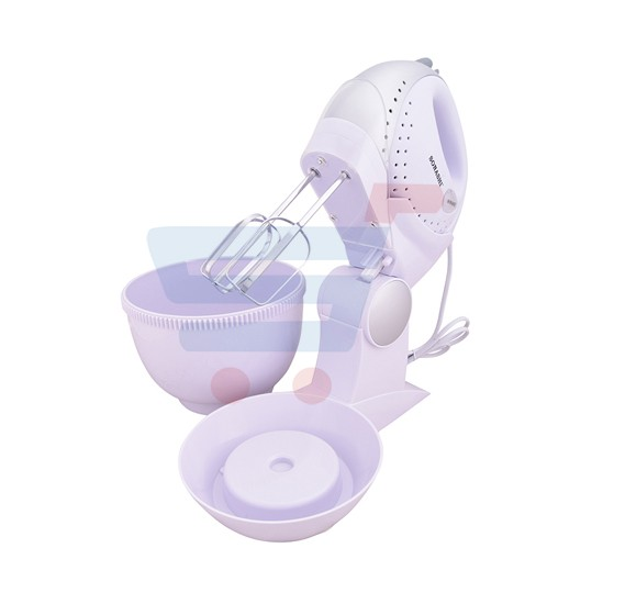 Sonashi Hand Mixer With Rotating Bowl/200W SMX 104 B(VDE)