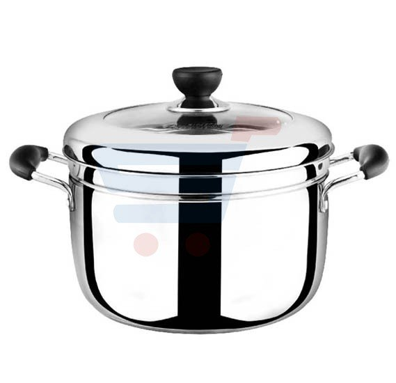 RoyalFord 2 Layer Stainless Steel Roza Steamer 22CM, RF7813