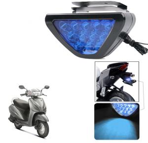 Universal Triangle Blue 12 Led Brake Light with Flash Mode for Car