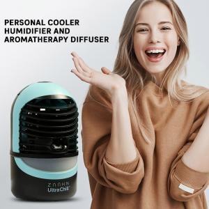 Zaahn Ultra Chill Personal Cooler, Humidifier and Aromatherapy Diffuser