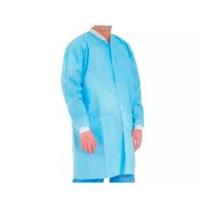 Novamed Disposable Lab Coats ( Blue) , 45 GSM
