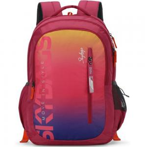 Skybags Figo Plus-02 Unisex Gradient Pink Backpack, BPFIGP2GPK