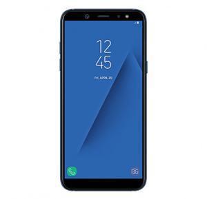 Samsung Galaxy A6 4G Smartphone, Android 8.0, 5.6 Inch, 4 GB RAM, 64 GB Storage, Dual Sim, Dual Camera - Blue