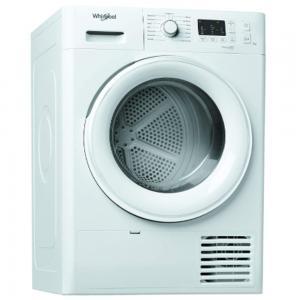 Whirlpool Freestanding Condenser Tumble Dryer White 7kg, FTCM107BGCC