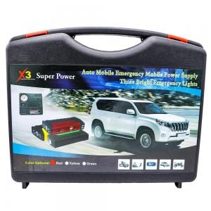 Super Power Multi Function Emergency Car Jump Starter And Power supply charger with cable