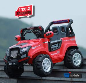 Al Taraf Rechargeable Ride on Willies Car for Children Red, AltBBH-318