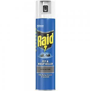Raid Odorless Flying Insect Killer Spray, 300ml