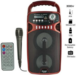 iSmart IS-915BT 2.1 Channel Multimedia Bluetooth Speaker