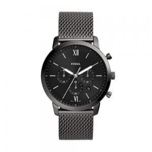 Fossil Analog Black Dial Gents Watch, FS5699