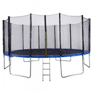 TA Sport 8Ft Trampoline with Container and Ladder 38*1.5MM