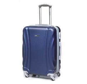Para John 24 Inch Trolley Luggage Blue, - PJTR4034