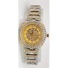 3 Jam Ladies Fashion Watch Stone 3J93