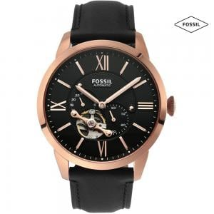 Fossil ME3170 Automatic Analog Watch For Men, Rose Gold
