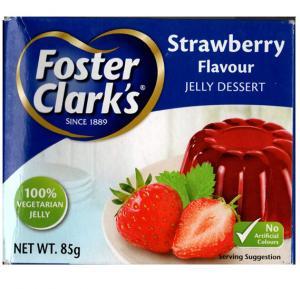 Foaster Clarks Strawberry Jelly 85gm