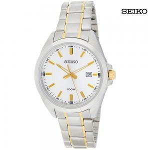 Seiko Quartz Gents Stainless Steel Bracelet Watch, SUR279P1
