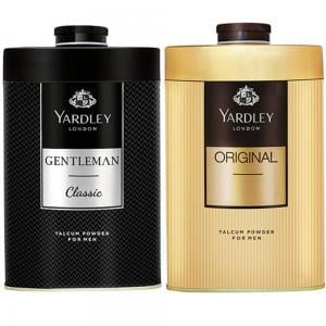 Yardley of London Gentlemen Classic and Original Twin Talc 250g