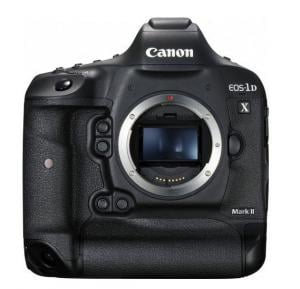 Canon EOS 1D X Mark II Body Only - 20.2 MP, Full Frame, DSLR Camera, Black