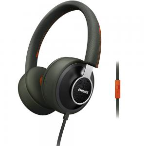 Philips Citi Scape Downtown Headphones with Mic, SHL5605GN/10