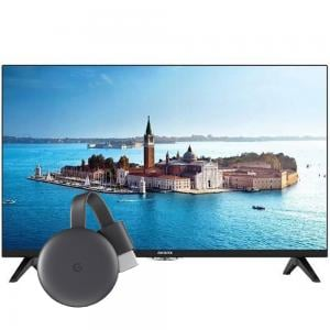 2 in 1 Bundle offer Aiwa 32 Inch HD LED TV JH32BT180S Black with Google Chromecast 3 Media Streaming Device