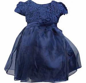 Amigo 7 Children Dress Blue - 6-9M - 1159