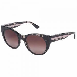 Lacoste L913S Gray Cat Eye Sunglasses For Women Brown Lens, Size 53