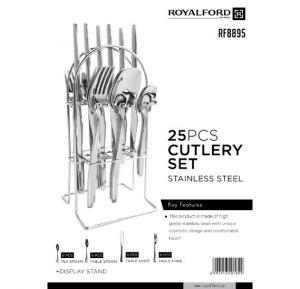Royalford 25Pc SS Cutlery Set  - RF8895