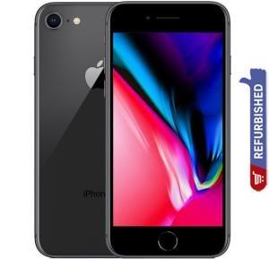 Apple iPhone 8, 2GB RAM, 64GB Storage, 4G LTE, Space Gray, Refurbished