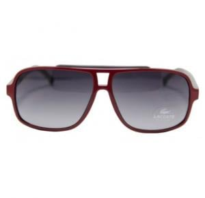 Lacoste Aviator Red / Grey Frame & Grey Mirrored Sunglasses For Unisex - L639S-615