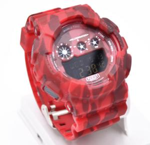 BISTEC Digital Watch For Men Red