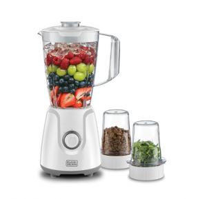 Black & Decker 400W Blender with 2 Mills, BX4000-B5