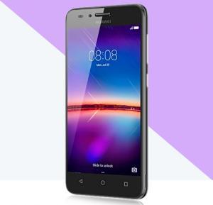 Huawei Y3 II Smartphone, 3G Android OS 5.1, 4.5 Inch Display, 1GB RAM 8GB Storage, Dual Camera, Dual Sim, Wifi- Black