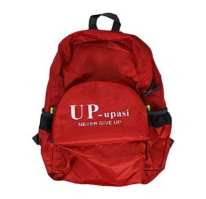 UP-upasi Never Give Up Backpack Red