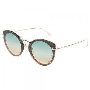 Tom Ford FT683 Cat-eye Gold Sunglasses for Women, Size 63